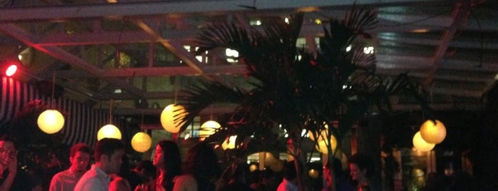 The Cabanas at The Maritime Hotel is one of Eat/drink outside & downtown(ish).