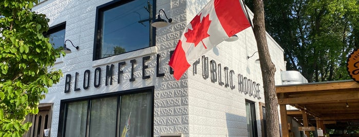 Bloomfield Public House is one of Out of Towning - discover Ontario.