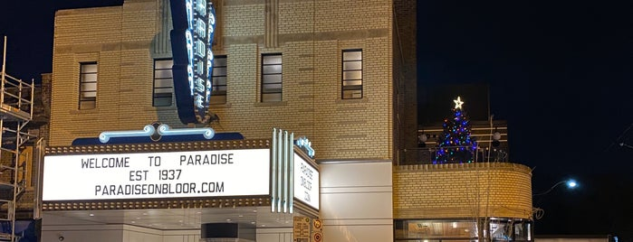 Paradise Theatre is one of Signs International.
