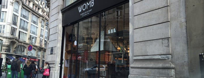 Womb is one of Paris.