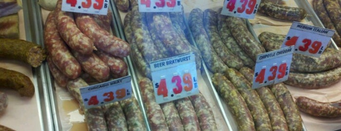 Sausage Shop is one of Orte, die Lisa gefallen.