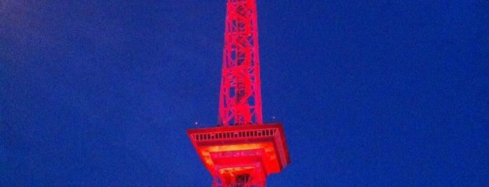 Berliner Funkturm is one of Ich bin ein Berliner.