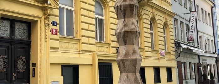 Cubist Lamp Post is one of Prag.
