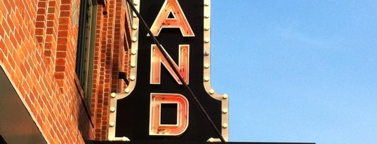 Strand Theatre is one of Maine.