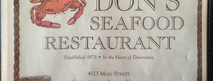 Don's Seafood Restaurant is one of Chincoteague.