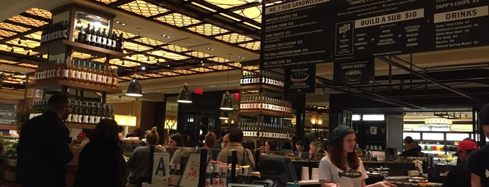 Todd English Food Hall is one of The New Yorkers: Extracurriculars.