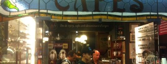 Cafés El Magnífico is one of Café BCN.