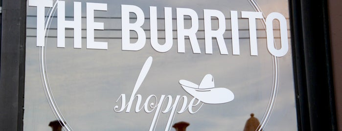 The Burrito Shoppe is one of Lugares guardados de Lizzie.