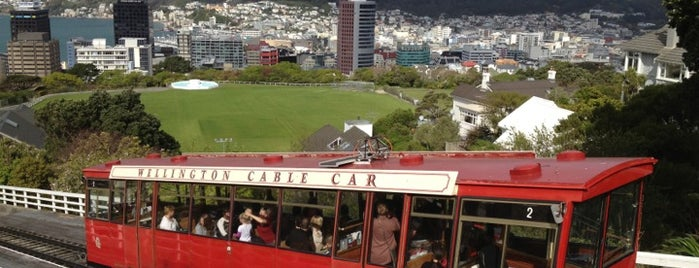 Wellington Cable Car is one of New Zealand Spots.