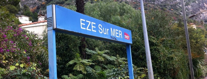 Gare SNCF d'Èze-sur-Mer is one of Europe to-do.