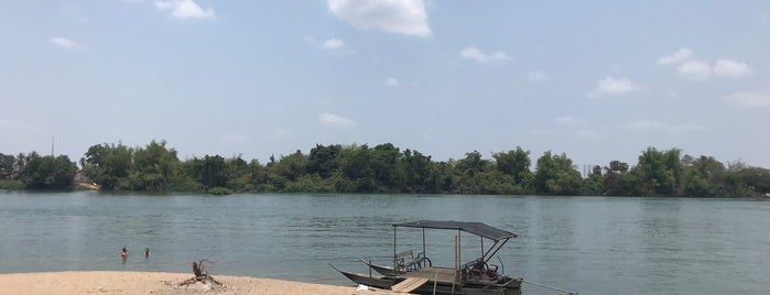 Dondet Beach is one of Laos.