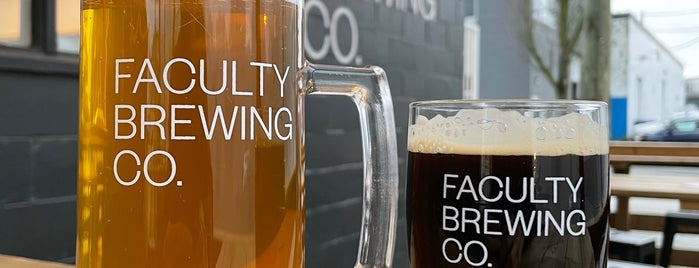 Faculty Brewing Co. is one of Devin : понравившиеся места.