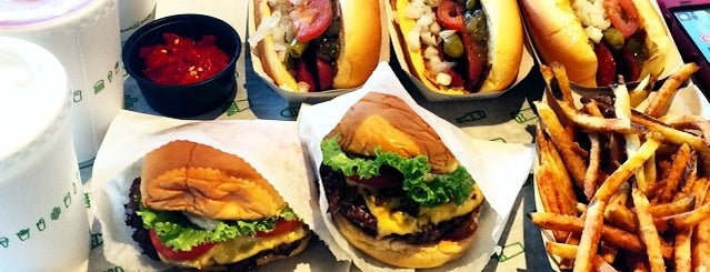 Shake Shack is one of My Top Rated Burger Places.