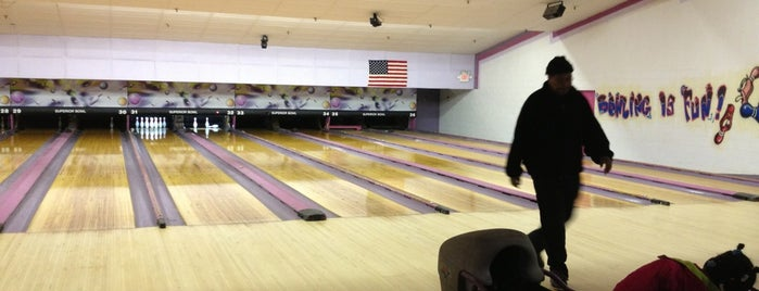 Ambassador Bowling Lanes is one of b ~ check !.