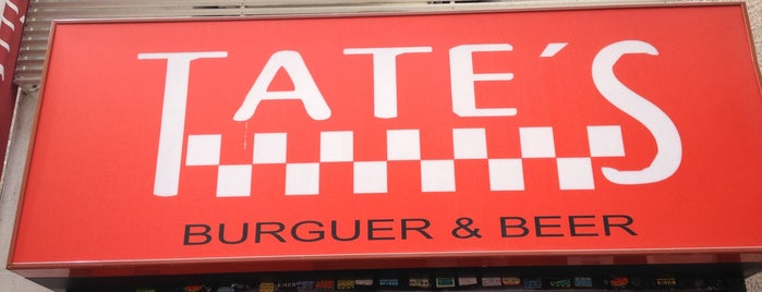 Tate's Burguer is one of Comer en Madrid.