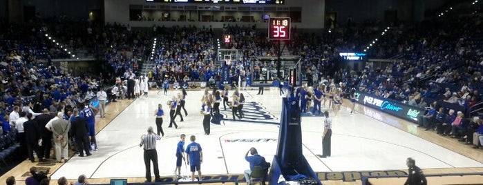Reynolds Center is one of College Basketball Arenas.