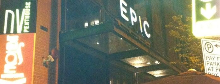 EPIC is one of United Mileage Plus Dining Spots.
