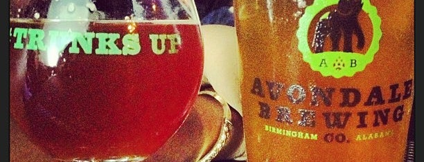 Avondale Brewing Company is one of Best of Birmingham.