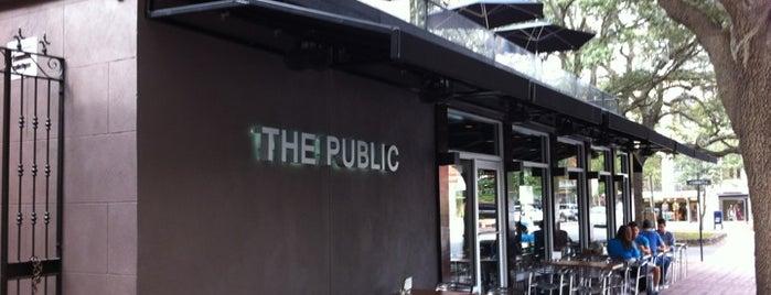 The Public Kitchen and Bar is one of Savannah.