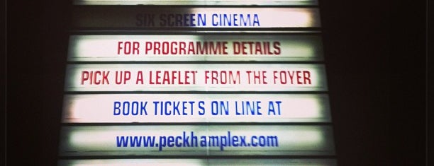 Peckham Plex is one of My Favourites South East.