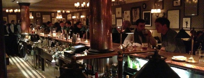 Dean Street Townhouse is one of My Personal Shortlist of Restaurants.