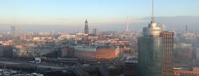 The Westin Hamburg is one of Hamburg+.