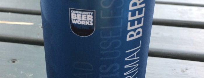 Community Beer Works is one of Tempat yang Disukai Steve.