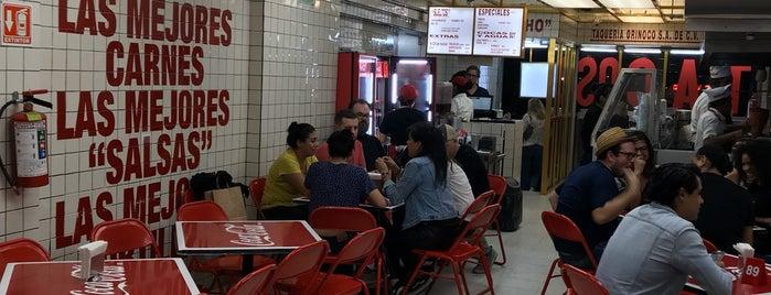 Taquería Orinoco is one of Mexico City.