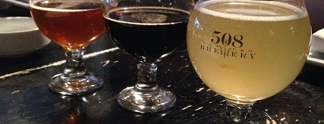 508 GastroBrewery is one of NYC Good Beer Passport 2014.