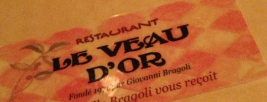 Restaurant le Veau d'Or is one of Good Chow, Sometimes Weird Places 2.