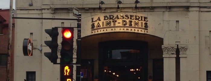 La Brasserie Saint-Denis is one of Montreal.