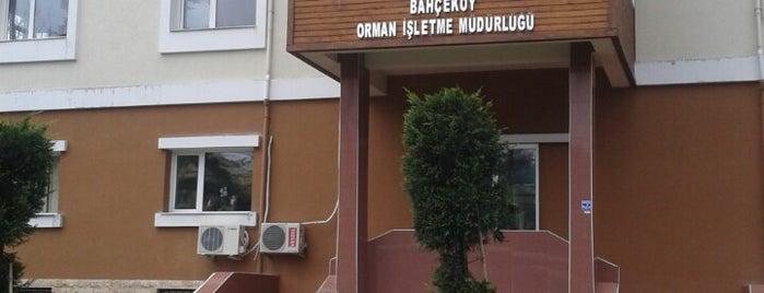 Bahçeköy Orman İşletme Müdürlüğü is one of Rafet'in Beğendiği Mekanlar.