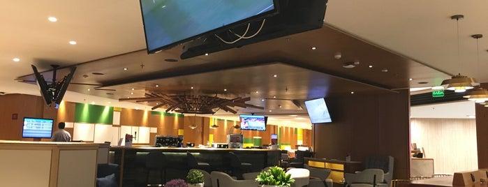 Plaza Premium Lounge Doméstico is one of Lugares favoritos de Chris.