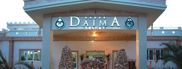 Daima Biz Resort Hotel is one of Locais salvos de Behlül.