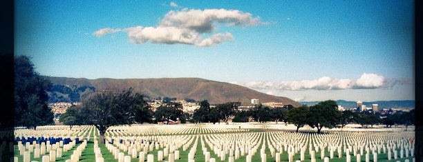 Golden Gate National Cemetery is one of Of Interest.