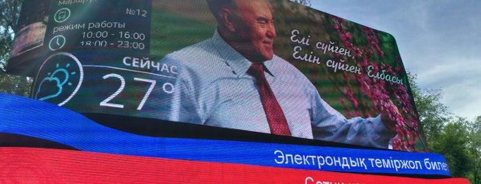 Проспект Назарбаева is one of Улицы Алматы.
