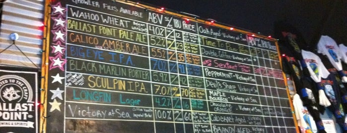 Ballast Point Brewing & Spirits is one of San Diego's Best Beer - 2013.