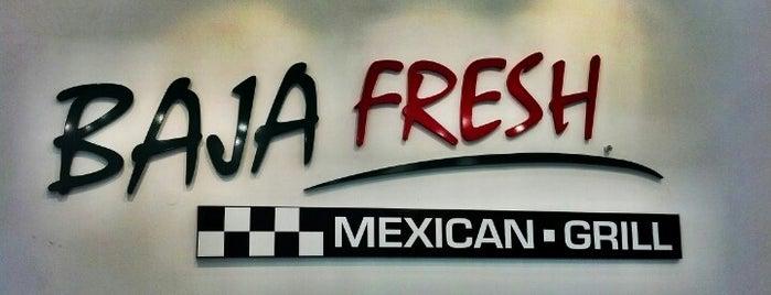 Baja Fresh is one of Jared'in Beğendiği Mekanlar.
