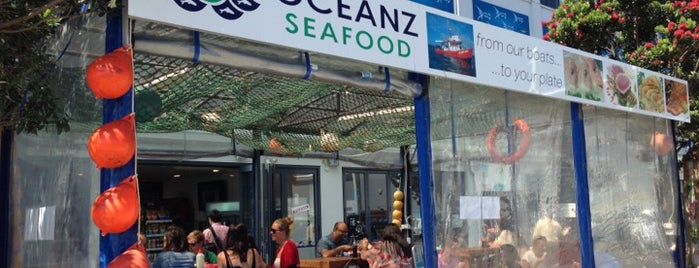 Oceanz Seafood is one of Auckland.