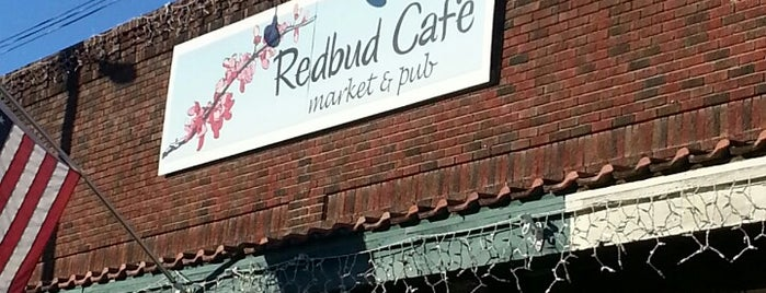 Redbud Cafe & Pub is one of Sue 님이 좋아한 장소.