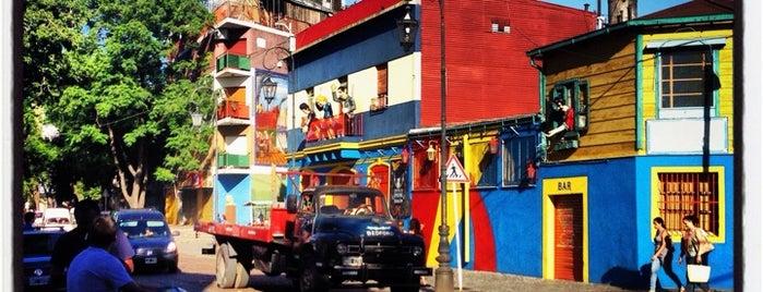 La Boca is one of BsAs.