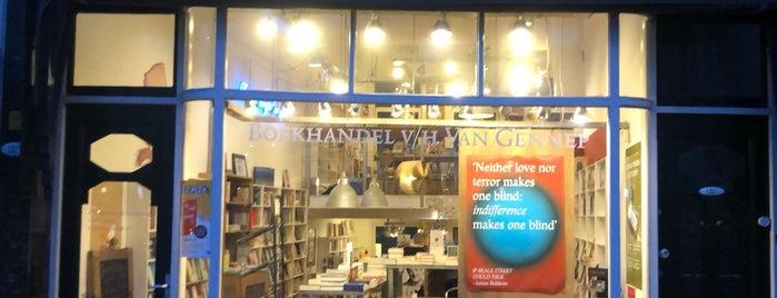 Boekhandel Van Gennep is one of Lieux qui ont plu à Christiaan.
