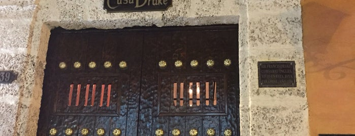 Casa Drake is one of Cartagena.