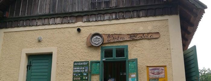 Bistro Stodola is one of Tempat yang Disukai Vladowill.