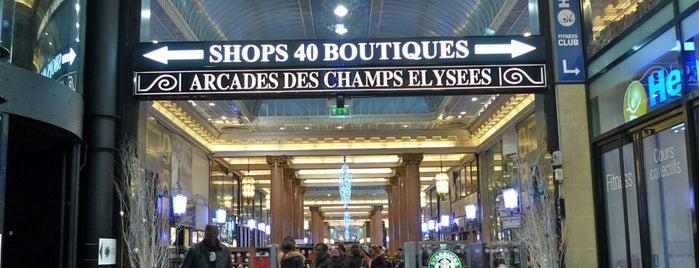 Arcades des Champs-Élysées is one of Paris Places To Visit.
