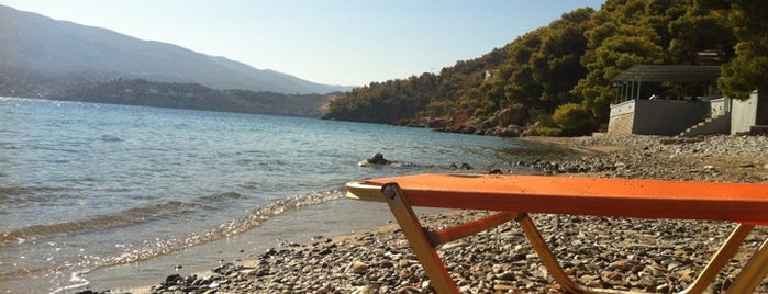 Monastiri Beach is one of Poros Atina.