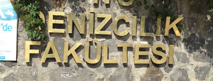 Denizcilik Fakültesi is one of Fakülteler ve Yüksekokullar.