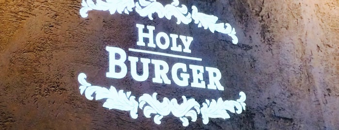 Holy Burger is one of Snacks.