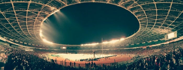 Stadion Utama Gelora Bung Karno is one of Jekardah.