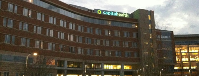 Capital Health Medical Center - Hopewell is one of Edwin : понравившиеся места.